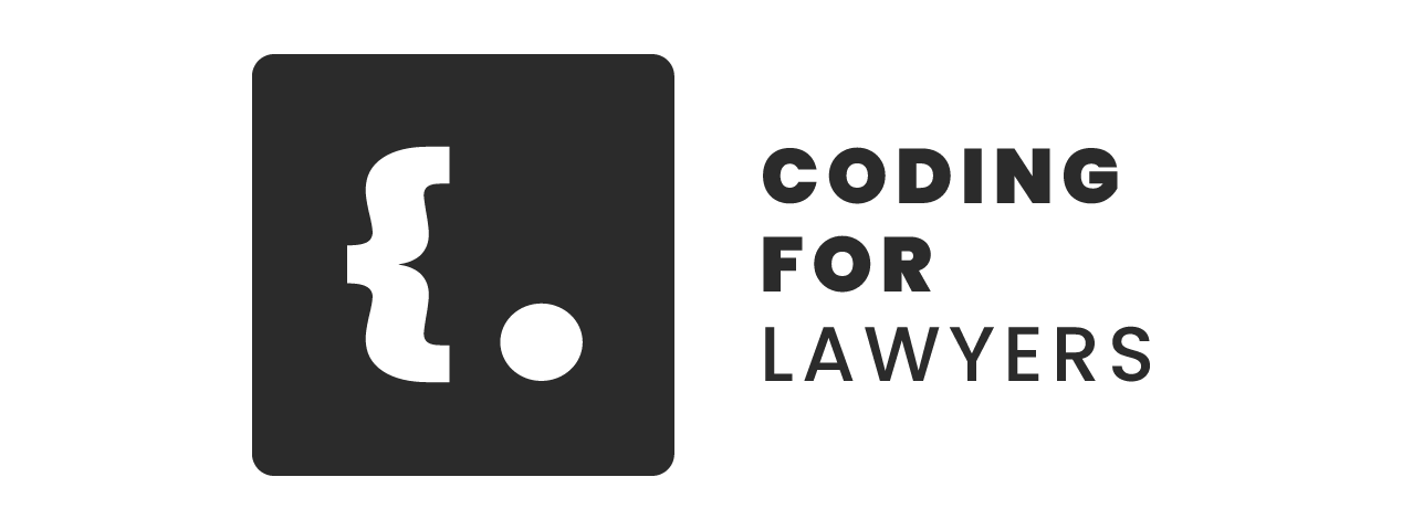 Coding for Lawyers